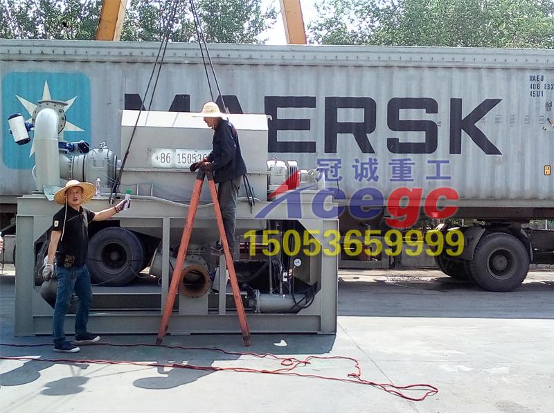 重力选矿设备出口装集装箱