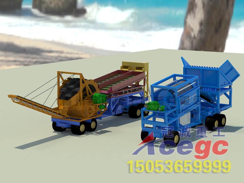 移动选矿机械设备